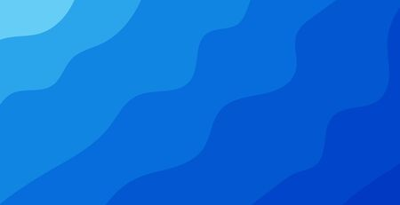 blue background, clean and modern wavy style Illustration