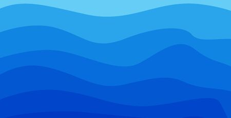 blue and white background, clean and modern wavy style