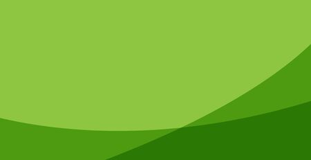 green background, clean and modern wavy style Illustration