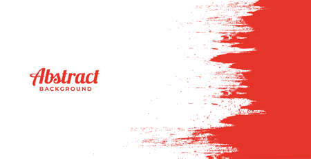 Abstract red and white dirty texture background 일러스트