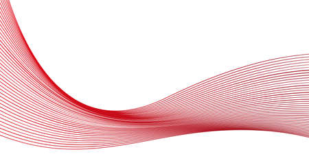 red wavy background