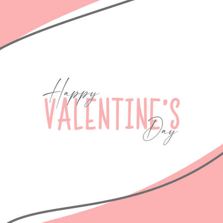 Happy Valentines day . Valentine day background design . Vector illustration. Wallpaper, flyers, invitation, posters, brochure, banners.