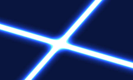 Abstract neon background design , blue neon background design . vector illustration