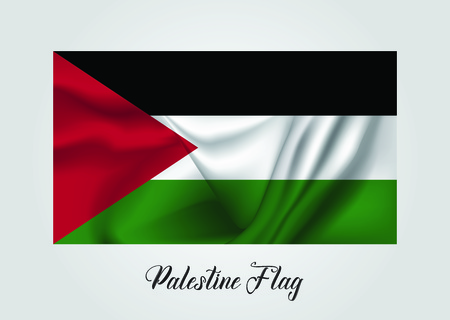 Palestine Flag Vector illustration