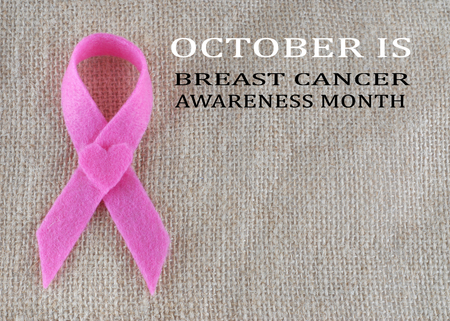 cancer symbol: Breast Cancer awareness month in October