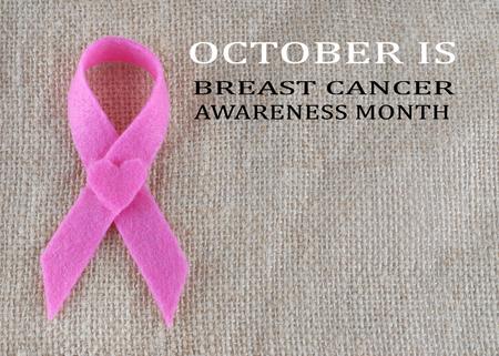 cancer symbol: Breast Cancer awareness month in October