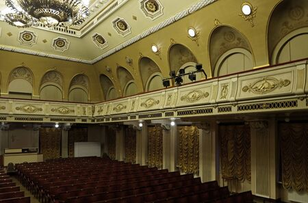jewish community: House Jewish community in Riga. Skolas 6. Great Hall. Editorial