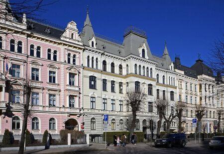 bilding: Riga, Elizabetes Street 15-19. Eclectic (19th century).