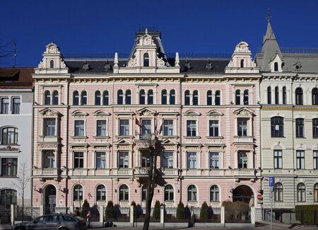 bilding: Riga, Elizabetes Street 15. Eclectic (19th century).