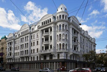 corner house: Brivibas 61 (1912) corner house (KGB), Riga  Latvija.