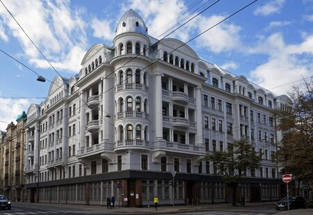 Brivibas 61 (1912) corner house (KGB), Riga  Latvija.
