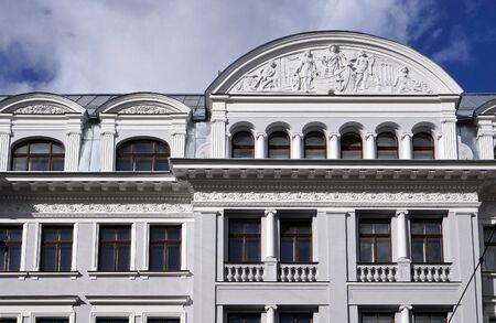 eclecticism: Brivibas 61 (1912) corner house (KGB), Riga  Latvija.