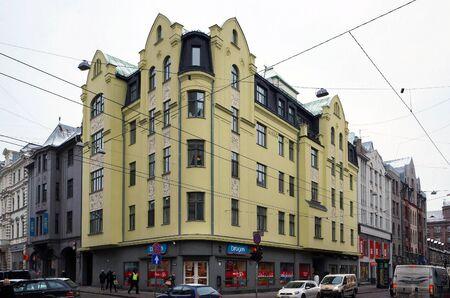 eclecticism: Riga, Terbatas 4-8, Art Nouveau. Editorial