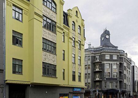 eclecticism: Riga, Terbatas 14, Art Nouveau, Art Deco
