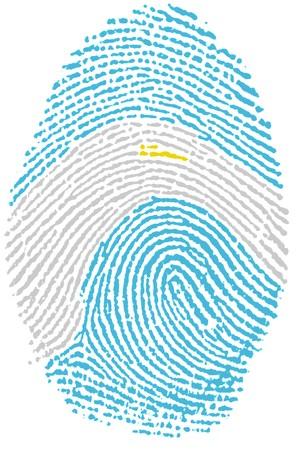 Fingerprint - Argentina Stock Photo - 6924533