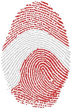 Fingerprint  - Austria Stock Photo - 6924534
