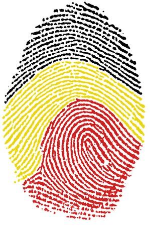Fingerprint  - Belgium Stock Photo - 6924539