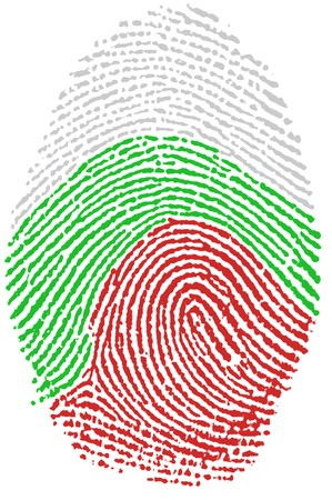 Fingerprint  - Bulgaria photo