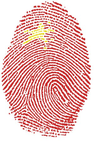 Fingerprint - China Stock Photo - 6924540