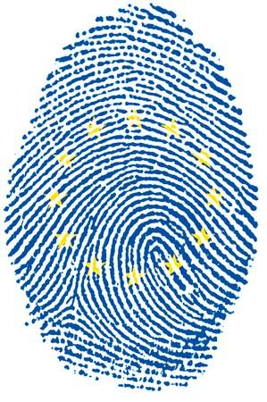 Fingerprint -  Europe Stock Photo