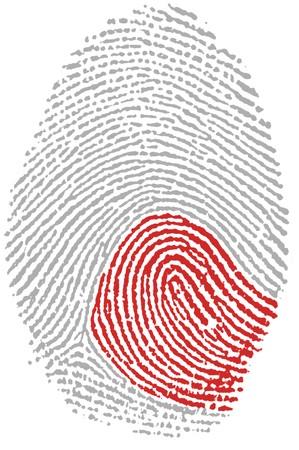 Fingerprint  - Japan Stock Photo