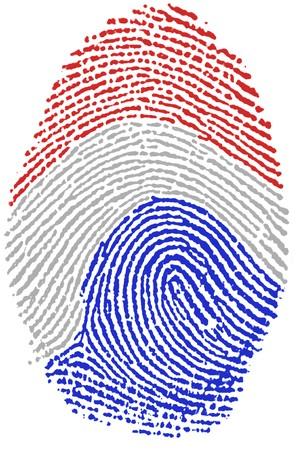 Fingerprint  - Netherlands Stock Photo - 6924559