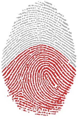 Fingerprint - Poland Stock Photo - 6924545