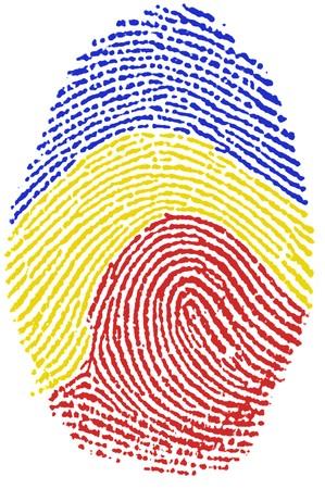 Fingerprint  - Romania Stock Photo - 6924538
