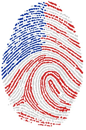Fingerprint - USA Stock Photo - 6924558