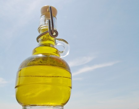 donates: Sky donates a small bottle of italian Olive Oil