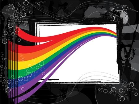 fondos violeta: Fondo de arco iris en blanco y negro entorno
