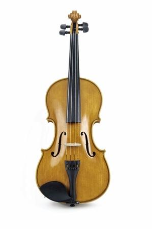 concerto: Isalated italiano madera viol�n en fondo blanco