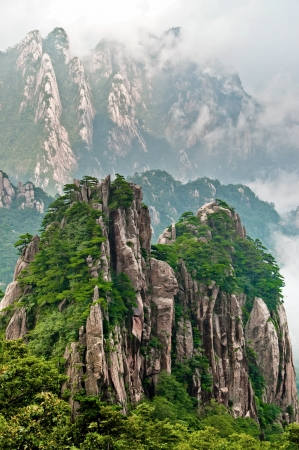 Huangshan peak Yellow sacred mountains in China