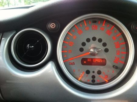 chilometro: Velocit� chilometro abitacolo della mia auto