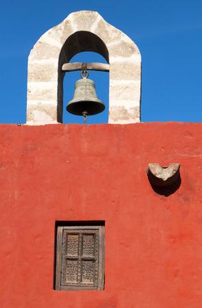 medioeval: Main Bell of Santa Catalina Monastery in Arequipa