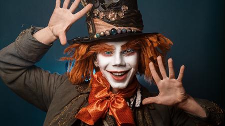 payaso: payaso Las aventuras traje de payaso en Wonderland