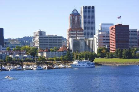 Portland OR., skyline.