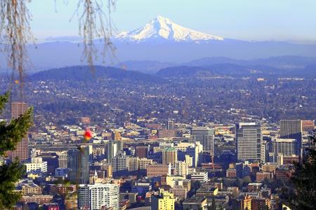 mount hood: Mt. Hood & a Portland panorama.
