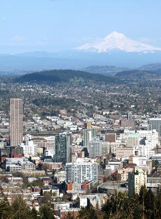 Portland OR. Mt. Hood.  Imagens