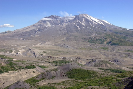 concave: Mt. St. Helens.