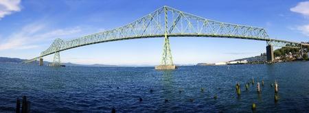 The Astoria bridge panorama. Stock Photo - 9638956