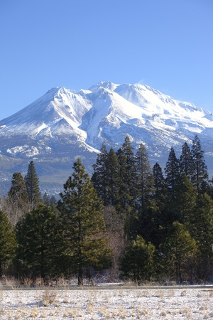 Mount Shasta Northern California.