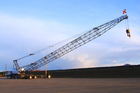 Long arm crane. photo