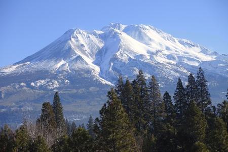 Mount Shasta California del Nord. Archivio Fotografico