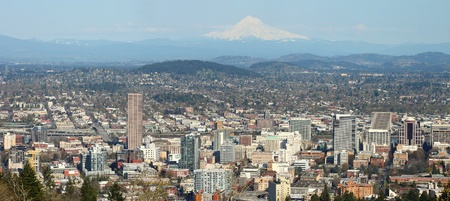 A panorama of Portland OR.  photo