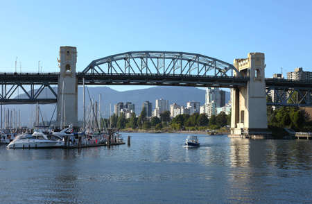 A boat excursion in False Creek, Vancouver BC , Canada  Stock Photo - 12618077