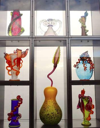glas kunst: Artistieke objecten en vormen glaskunst