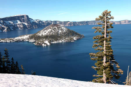 Crater Lake national park Oregon  photo