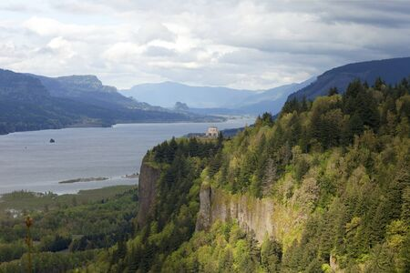 Crown Point, Columbia River Gorge OR  photo
