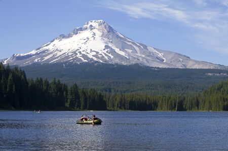 Trillium lake and mt  Hood excursions, Oregon  photo